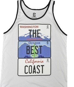 The Best Coast Men's Tank