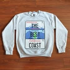 The Best Coast Crew Neck / Pull Over