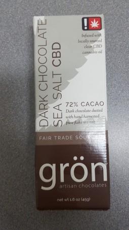 Gron CBD - Dark Chocolate & Sea Salt