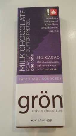 Gron 1:1 Milk Chocolate Peanut Butter Pretzel