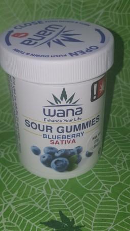 Wana - Blueberry Sour Gummies
