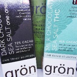 Milk Chocolate Sea Salt by Gron Chocolate