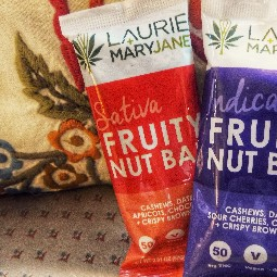 Fruity Nut Bar (Sativa) by Laurie and Mary Jane's