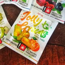 Mango Tango Hard Candy by Jolly Greens