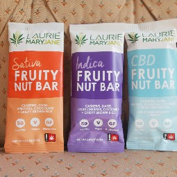 Fruity Nut Bar (Indica) by Laurie and Mary Jane's