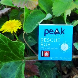 Rescue Rub (small) by Peak Extracts