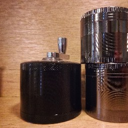 Chrome Grinder with Crank - $35